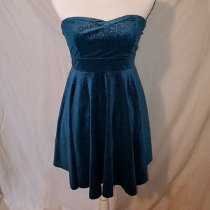 Free People dress.  Green. Size small